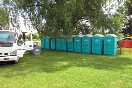 North Coast Sanitation provided portable toilet rental for the special event on Presque Isle in Erie, PA.  We delivered and set up on time and on budget.