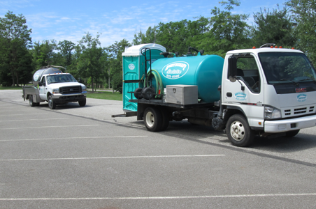 As shown, our portable potties are ideal for summer sports events, picnics and sports practices.
