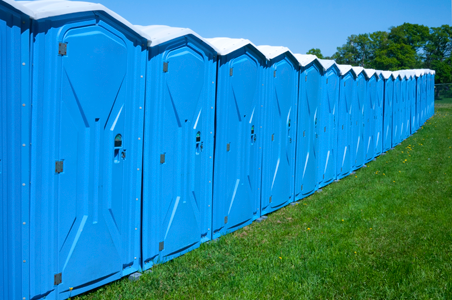 North Coast Sanitation in Erie PA provided porta potty rental for the Discover Presque Isle Festival in Millcreek, PA.